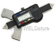 Welding Gauge weld test ulnar digital readout Metric & inch