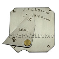 Square Welding Gauge Multi function Inspection Gauge