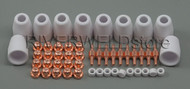 50pcs PT-31 LG-40 Air Plasma Cutter Cutting Consumables common CT-312 CUT-40/50D