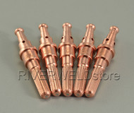 5pcs 9-8215 Plasma Electrode Fit For Thermal Dynamics SL60/SL100 Plasma Cutter Torch