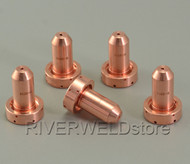 5pcs 9-8211 Nozzle Tips 80A Fit For Thermal Dynamics SL60/SL100  Plasma Cutter Torch