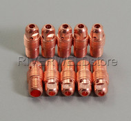 "13N29 3.2mm 1/8"" TIG Collet Body Fit SR PTA WP-9 20 25 TIG Welding Torch 10PK"