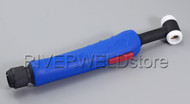 WP-17F TIG Welding Torch Head Body Flexible Euro-Style Air Cooled 150Amp DC