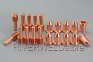 20pcs Miller ICE-50C Plasma Cutter Cutting Consumables Ref No: 177876 192048