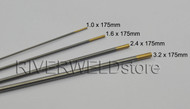 "1.5% Lanthanated WL15 Gold TIG Tungsten Electrodes Assorted Size 0.040""~1/8"",4pcs"