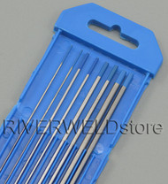 "2% Lanthanated WL20 TIG Tungsten Electrode Assorted Size 0.040""-1/16""-3/32""-1/8"",8pcs"