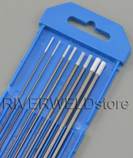 "0.8% Zirconiated WZ8 TIG Tungsten Electrode Assorted Size 0.040"",1/16"",3/32"",1/8"",8pcs"