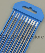"0.8% Zirconiated TIG Welding Tungsten Electrode Assorted Size 3/32""(5pcs) & 1/8""(5pcs)"