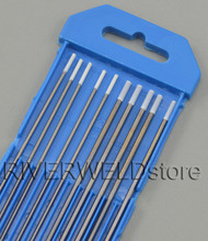 "0.8% Zirconiated TIG Welding Tungsten Electrode Assorted Size 3/32""(5pcs) & 1/16""(5pcs)"