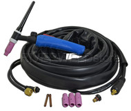 WP-17FV-12E-2 TIG Welding Torch Completed With Flexible Valve Torch Body