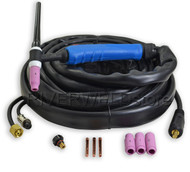 WP-17K-25-2E GAS COOLED WP-17 SR-17 TIG Welding Torch