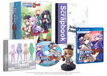 MegaTagmension Blanc + Neptune VS Zombies Limited Edition
