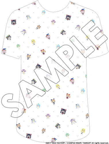 Nep Pixel Shirt (White)