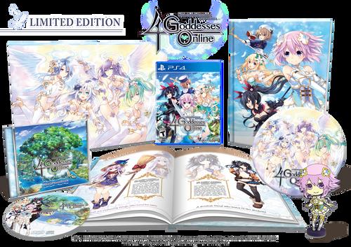 Cyberdimension Neptunia: 4 Goddesses Online Limited Edition