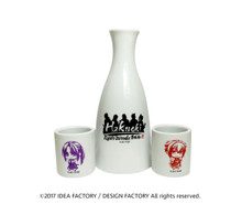 Hakuoki: Kyoto Winds Sake Bottle Set
