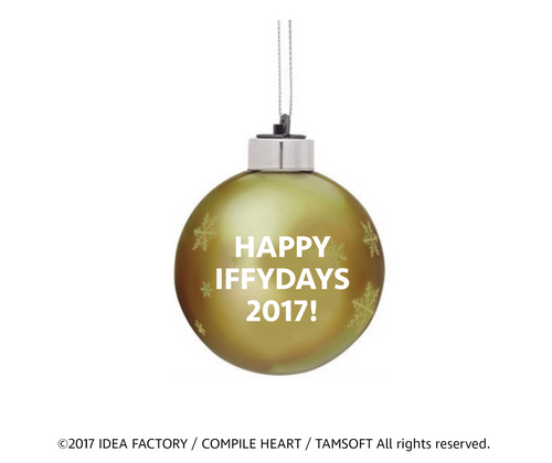 Iffy's Holiday Ornament (2017)