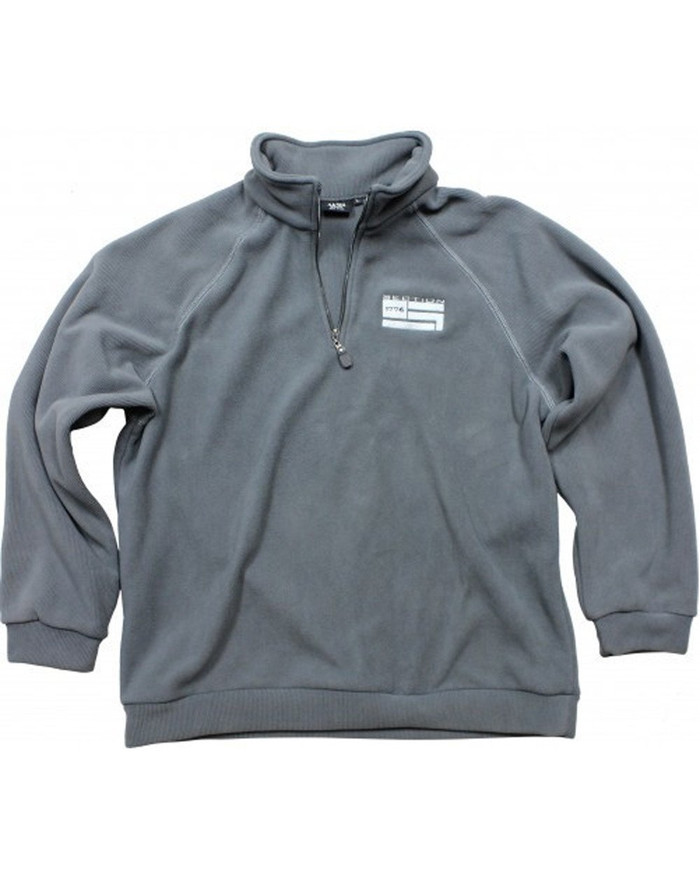 Grey Fleece Pullover