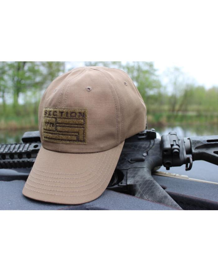 Tan Tactical Hat
