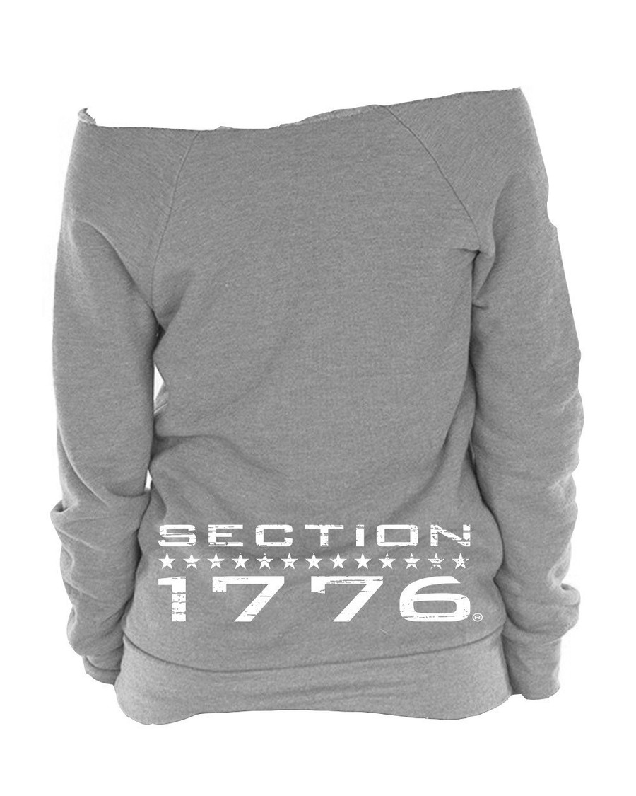 Ladies Grey Triblend Fleece