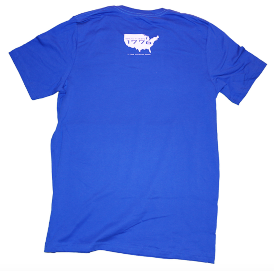 American Blue Cotton Tee
