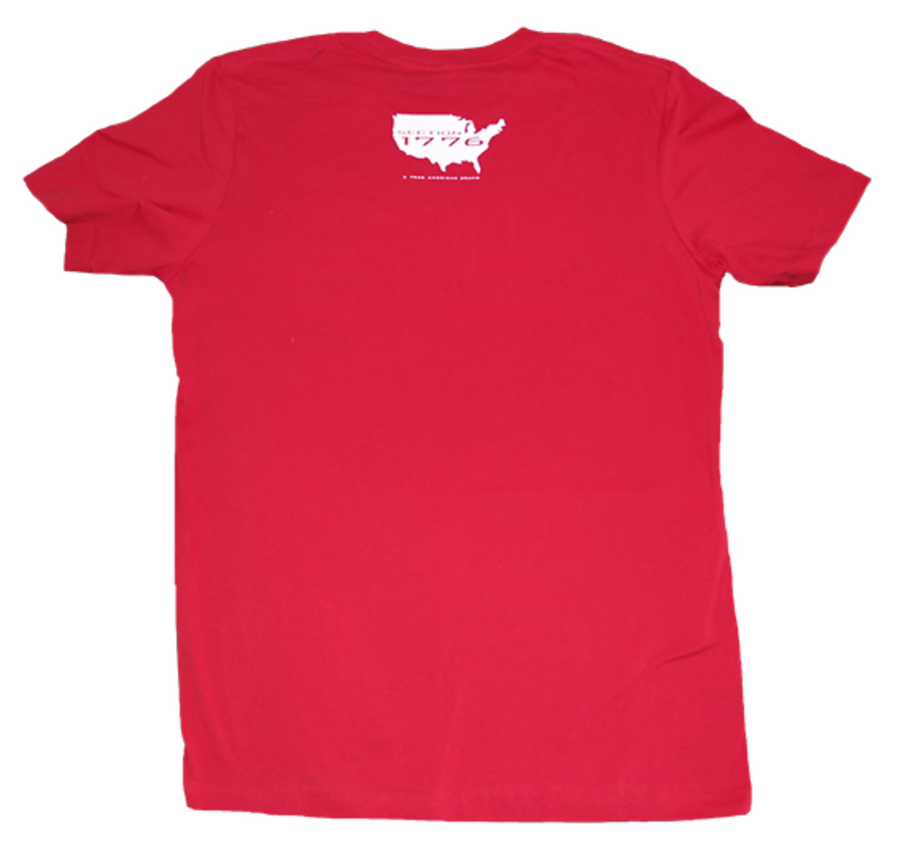American Red Cotton Tee