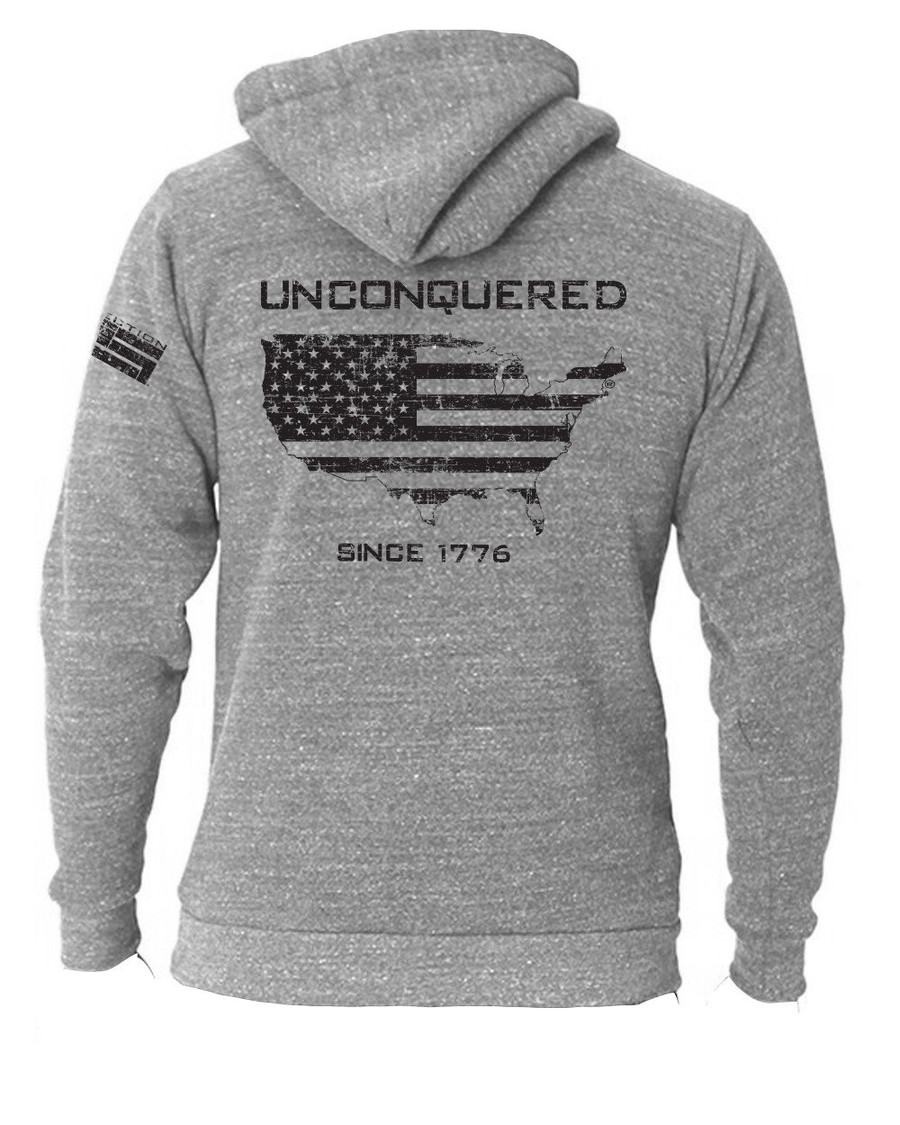 Unconquered Triblend Hoodie Pullover