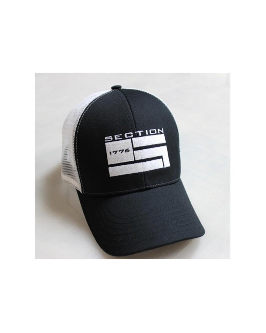 Black/White Trucker Hat