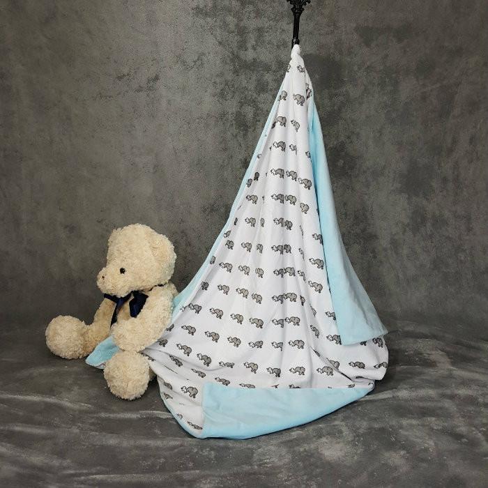 Elephant & Baby Blanket