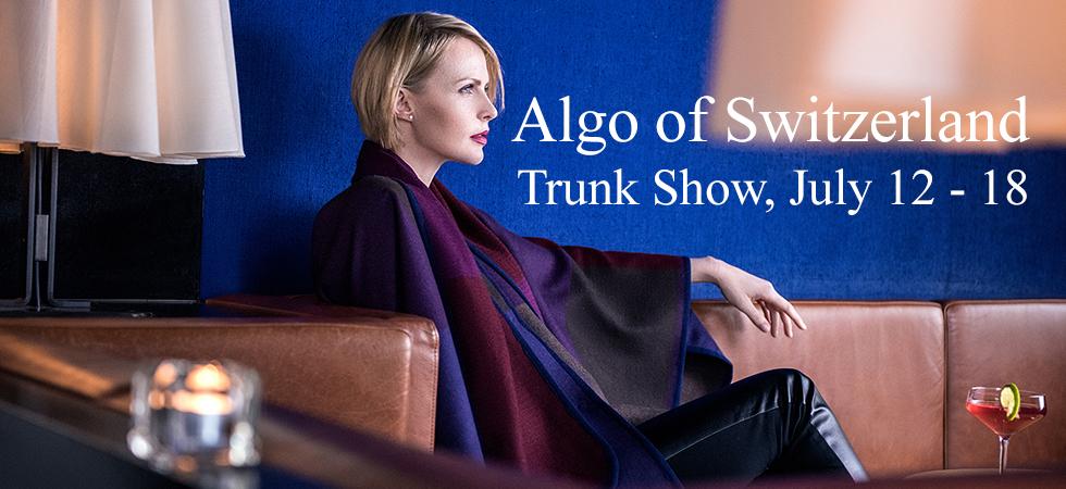 NYC Fashion Women's Trunk Show. Algo of Switzerland. Vivaldi Boutique NYC