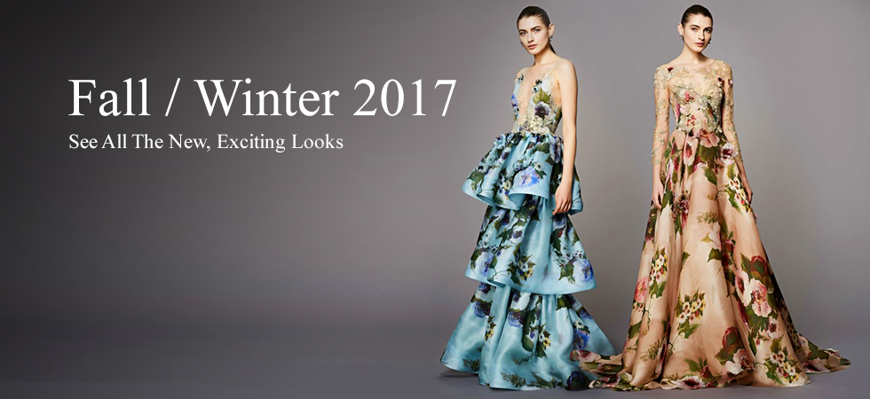 Fall Winter 2017 Women's Designer Fashion