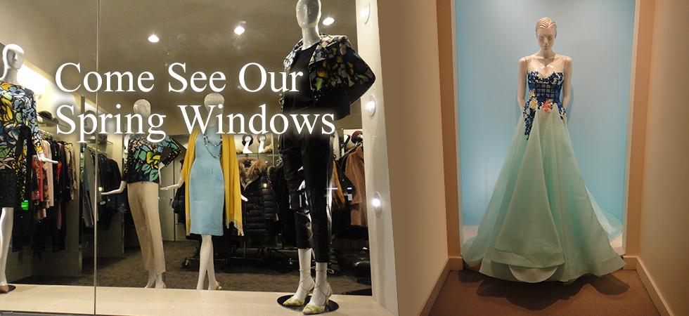 Vivaldi Boutique NYC: Spring Window Display