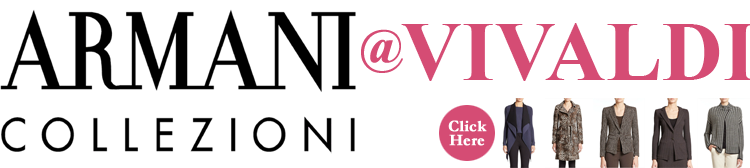 Armani Collezioni at Vivaldi Boutique NYC