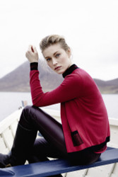 Barbara Lohmann Long-Sleeve Pullover: Fall 2016