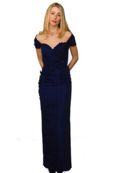 """Catherine Regehr Strapless """"Apple Blossom"""" Gown with Capelet"""