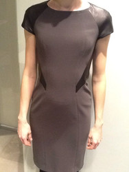 Georges Rech Leather Detail Dress
