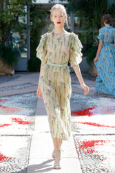 Luisa Beccaria Spring 2018 Ready To Wear Look 17