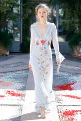Luisa Beccaria Spring 2018 Ready To Wear Look 7