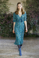 Luisa Beccaria Fall / Winter 2018 Ready To Wear Look 23