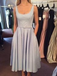 Catherine Regehr Patterned Sleeveless Dress