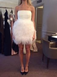 Catherine Regehr Sleeveless White Evening Dress