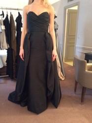 Catherine Regehr Sleeveless Black Evening Gown