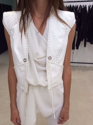 Plein Sud Sleeveless Blouse and Vest