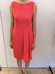 Rena Lange Red Sleeveless Dress