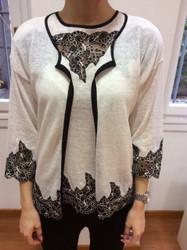 Tomaso Stefanelli White Sweater