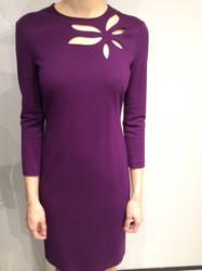 Escada Purple Dress