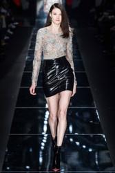 Blumarine Top and Black Mini Dress