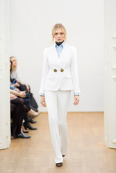 Escada White Jacket & Pants Combo