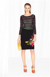 Escada Knit Top with Optional Skirt