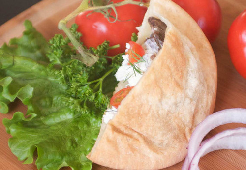 Gluten-free vegan pita pockets can be filled with your favorite meats, cheeses or veggies for delicious taste, every time.