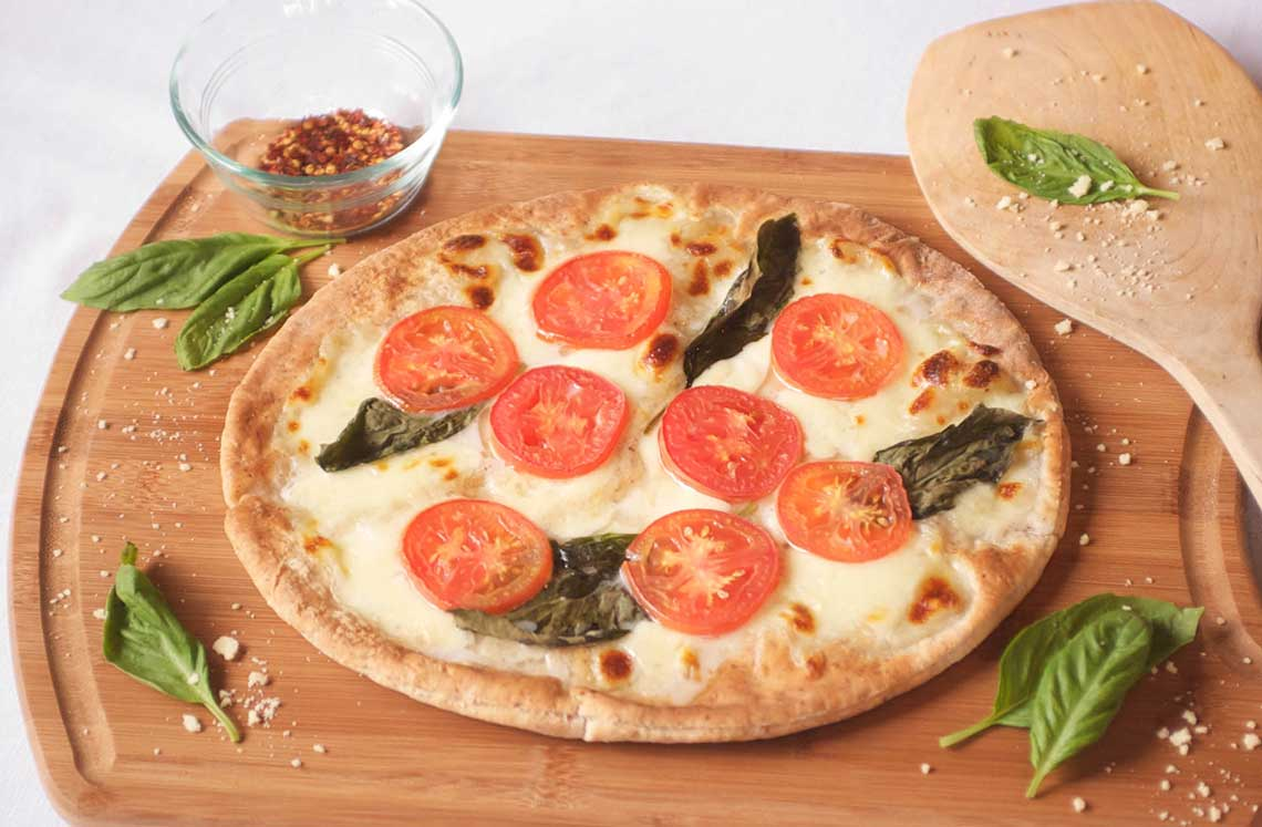 "Gluten-free vegan pizza crust 8"""